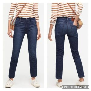 NWT J. Crew Vintage Straight Trouser Jean Deep Sea